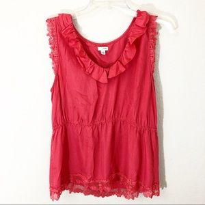 Anthropologie Odille 14 Blouse Tank Sleeveless